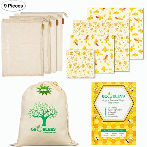 Geobless Beeswax Wraps